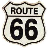 Rustic Route 66 Metal Sign